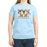 See No Evil Corgi Women's Light T-Shirt