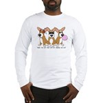 See No Evil Corgi Long Sleeve T-Shirt