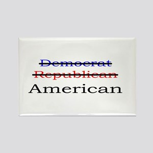 Nonpartisan American Rectangle Magnet