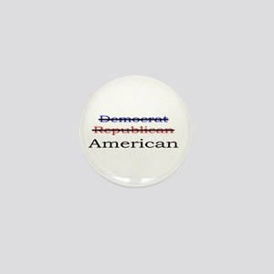 Nonpartisan American Mini Button