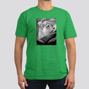 Rose IV Men's Fitted T-Shirt (dark)