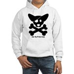 Pirate Corgi Skull Hooded Sweatshirt