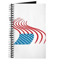 Flag Paint Graffiti Journal
