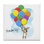 Balloon Bunch Corgi Tile Coaster