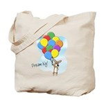 Balloon Bunch Corgi Tote Bag