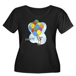 Balloon Bunch Corgi Women's Plus Size Scoop Neck D