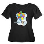 Balloon Bunch Corgi Women's Plus Size Scoop Neck D