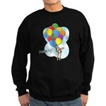 Balloon Bunch Corgi Sweatshirt (dark)