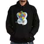 Balloon Bunch Corgi Hoodie (dark)