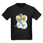 Balloon Bunch Corgi Kids Dark T-Shirt