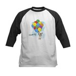 Balloon Bunch Corgi Kids Baseball Jersey