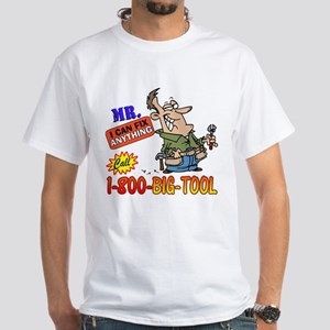 MR Fix it White T-Shirt