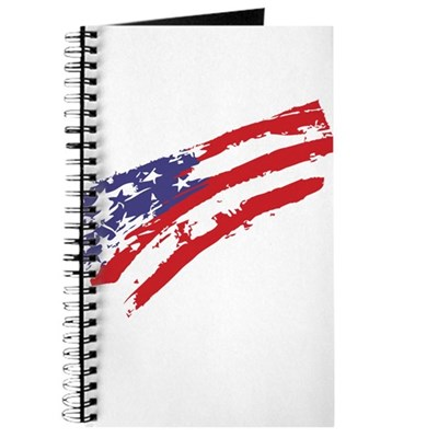 Graffiti USA Flag Journal