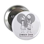 "Zombie Love 2.25"" Button (10 pack)"