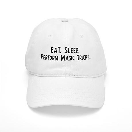 Eat, Sleep, Perform Magic Tri Cap