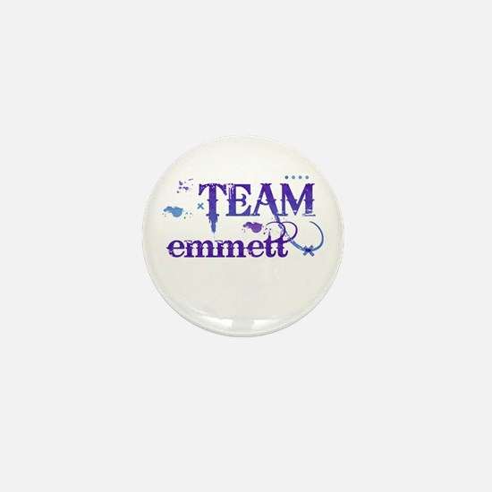 Team Emmett Mini Button