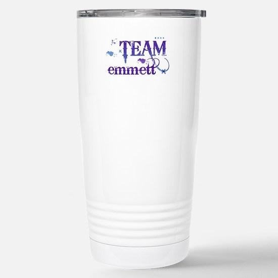 Team Emmett Stainless Steel Travel Mug