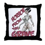 Horror from the Grave 2 Throw Pillow