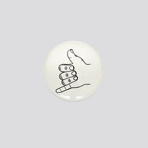 Shaka Hang Loose Mini Button
