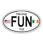 Specialty Oval Sticker