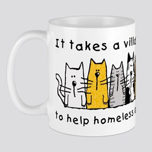 Takes a Village, Feral Cats Mug