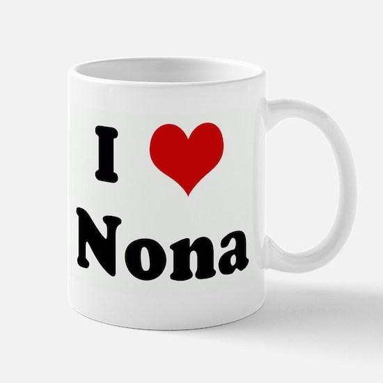 I Love Nona Mug