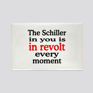 Schiller Revolt Rectangle Magnet