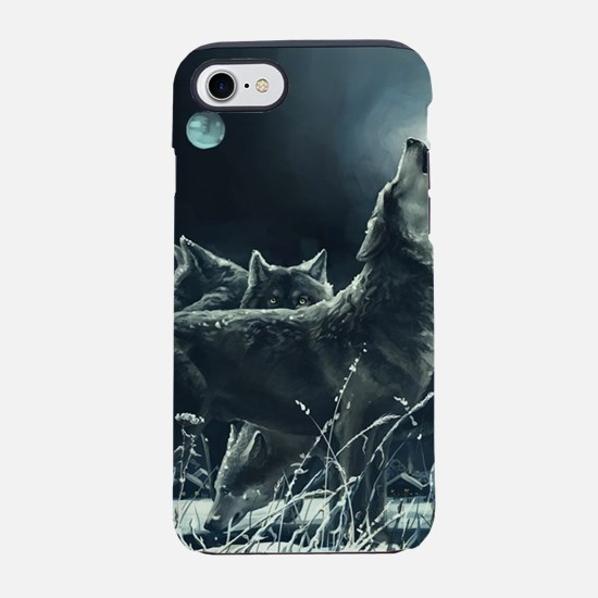 Winter Wolves iPhone 7 Tough Case
