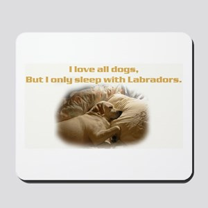 Custom Photo Labrador  Mousepad