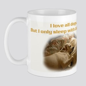 Custom Photo Labrador  Mug