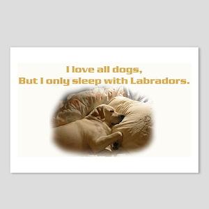 Custom Photo Labrador  Postcards (Package of 8)