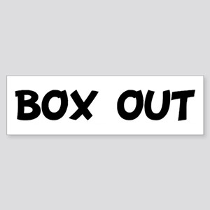 BOX OUT Bumper Sticker