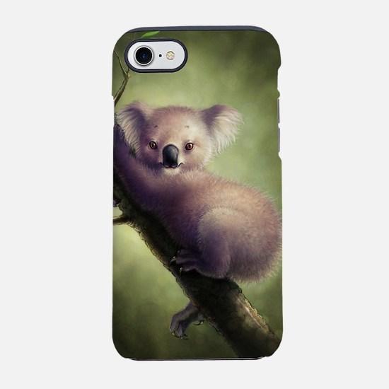 Cute Koala Bear iPhone 7 Tough Case