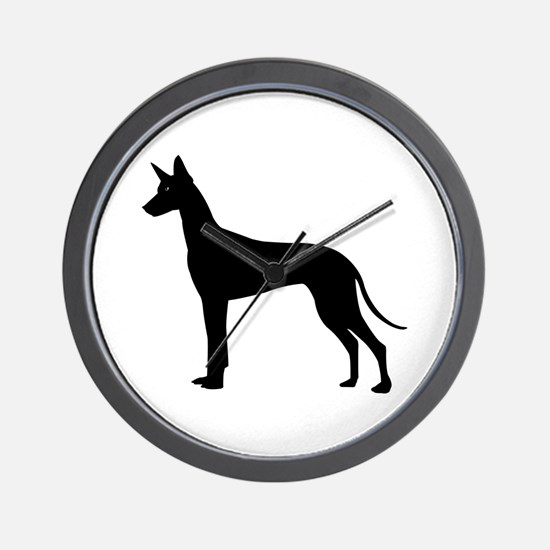 Pharaoh Hound Wall Clock