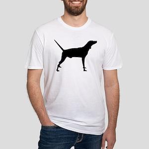 Plott Hound Fitted T-Shirt