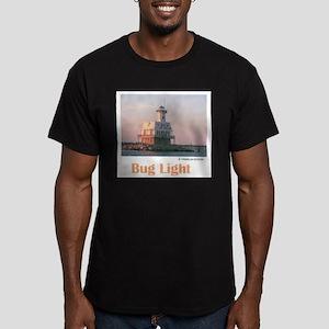 Bug Light Men's Fitted T-Shirt (dark)