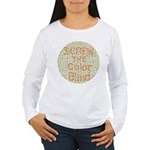 Color Blind Women's Long Sleeve T-Shirt