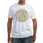 Color Blind Fitted T-Shirt