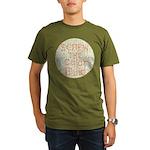 Color Blind Organic Men's T-Shirt (dark)