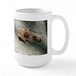 "Large ""Acorn on an Oak Leaf"" Mug"