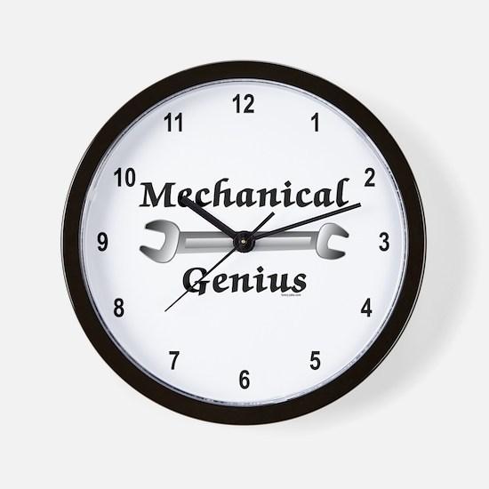 Mechanical Genius Wall Clock