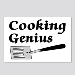 Cooking Genius Postcards (Package of 8)