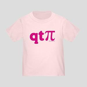 QT Pi-Pink Toddler T-Shirt