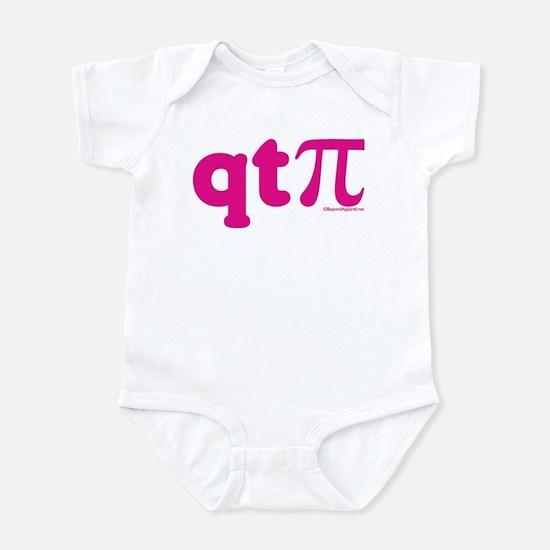 QT Pi-Pink Infant Bodysuit