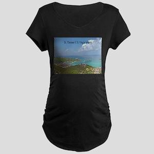 Home of Blackbeard Maternity Dark T-Shirt