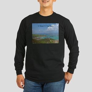 Home of Blackbeard Long Sleeve Dark T-Shirt