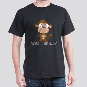 Who Farted? Dark T-Shirt