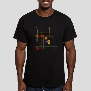 Skware Skare Men's Fitted T-Shirt (dark)