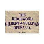 RIdgewood G&S Magnets