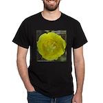 Yellow Mariposa Lily Dark T-Shirt